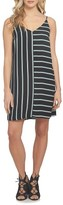 1 STATE Women's 1.state Mixed Stripe Shift Dress