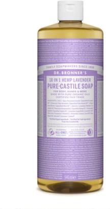 Dr. Bronner's Organic Lavender Castile Liquid Soap 946Ml
