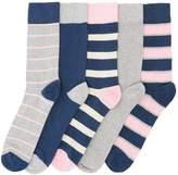 Howick 5 Pack Marl Rugby Socks