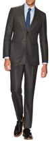 Giorgio Armani Wool Birdseye Notch Lapel Suit