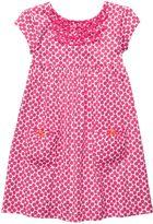 Carter's geometric floral dress - toddler