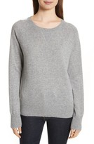 Theory Women's Athletic Stripe Cashmere Sweater