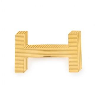 Hermes Boucle seule / Belt buckle Gold Metal Belts