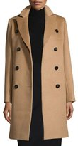 Cinzia Rocca Double-Breasted Camel Hair Coat