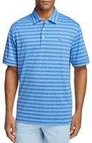 Vineyard Vines Jamestown Heathered Stripe Regular Fit Polo Shirt
