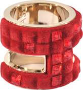 Swarovski Velvet Large Rock Ring by Viktor & Rolf