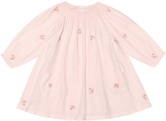 Tartine et Chocolat Baby embroidered twill dress