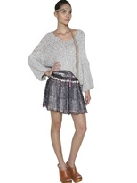 Mes Demoiselles Linen And Cotton Sweater