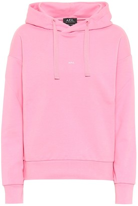A.P.C. Cotton jersey hoodie