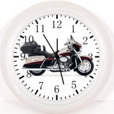 """Ikea New American Motorbikes Wall Clock 10"""" Will Be Nice Gift and Room Wall Decor W385"""