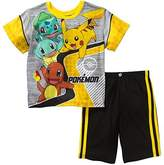 Pokemon Boys 2 Piece Shorts Poly Pajama Set (Large 10/12)
