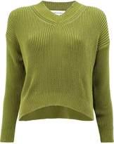 Lamberto Losani ribbed crop sweater