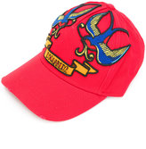 DSQUARED2 embroidered baseball cap - men - Cotton - One Size