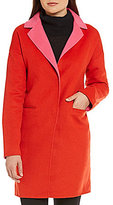 Kate Spade Double Face Shawl Collar Wool Coat