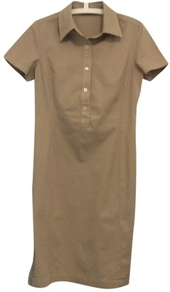 Brooksfield Beige Cotton - elasthane Dress for Women