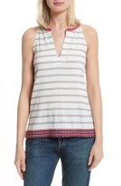 Soft Joie Women's Heather Embroidered Sleeveless Top