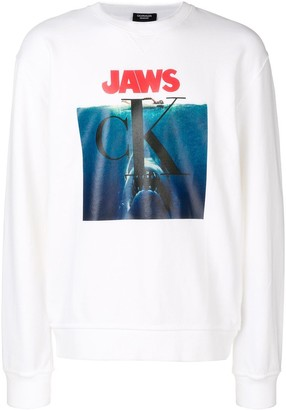 Calvin Klein Jaws logo sweatshirt
