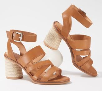 frye & co. Adjustable Ankle Strap Heeled Sandals - Leiah