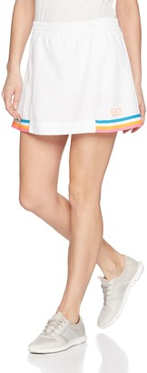 Emporio Armani Women's Performance and Stylite Tennis Pro Skirt with Shorts