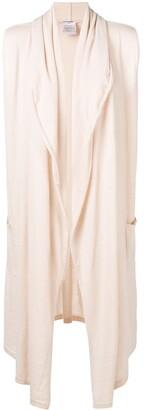 Chanel Pre Owned Sleeveless Elongated Jacket