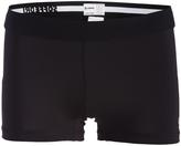 Soffe Black Dri Low-Rise Shorts