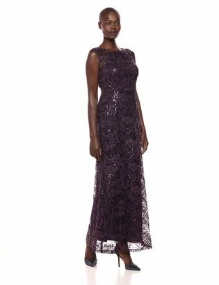 Ignite Women's Sequined Bodice Dress