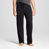 Merona Men's Jersey Knit Sleep Pant Black