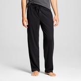 Merona Men's Jersey Knit Sleep Pants Black
