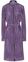 Altuzarra Marian striped silk shirt dress