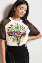 Forever 21 Van Halen Netted Raglan Tee