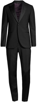 Paul Smith Soho Tailored-Fit Black Wool-Mohair Evening Suit