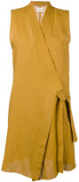 Simon Miller structured dress - women - Linen/Flax - 1