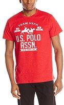 U.S. Polo Assn. Men's Flecked Graphic T-Shirt