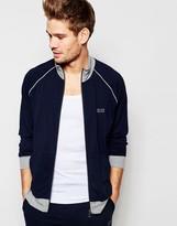 Hugo Boss Zip Through Jacket In Regular Fit
