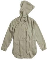 Treasure & Bond Girl's Drapey Hooded Jacket