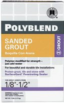Custom Building Products Sanded Polyblend Grout 7 Lb Snow White