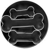 Bed Bath & Beyond 3-Piece Dog Bone Cookie Cutter Set