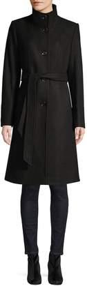 Novelti Stretch Belted Coat