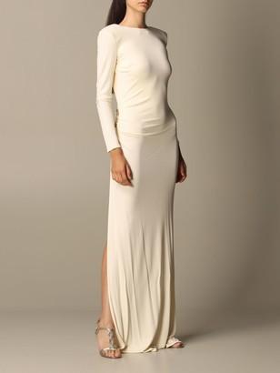 Elisabetta Franchi Long, Long Sleeves Jersey With Back Slit