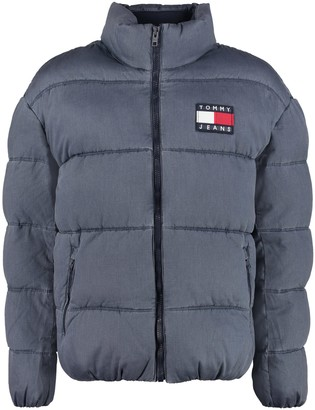 Tommy Jeans Padded Jacket With Zip Closure