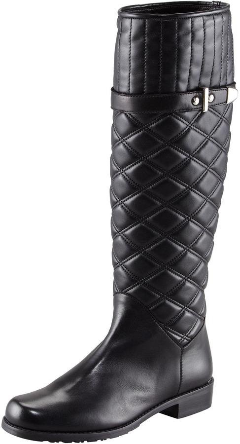Stuart Weitzman Copliot Quilted Leather Boot