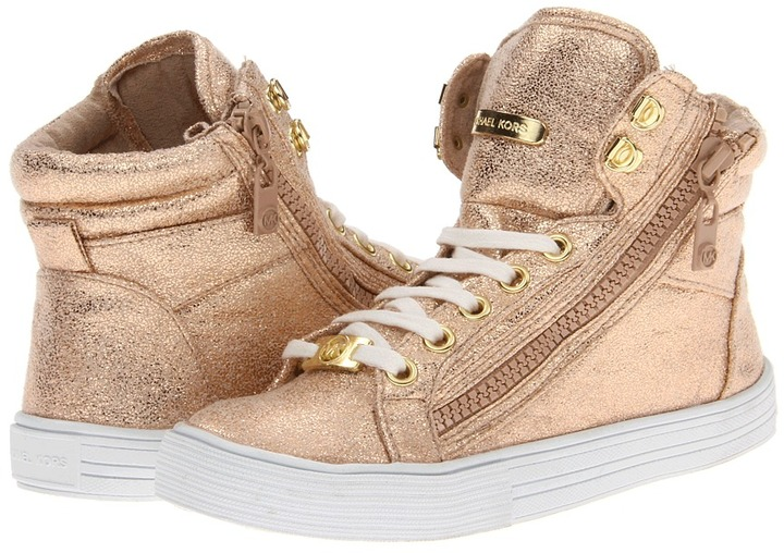 MICHAEL Michael Kors Kids - Holbrook (Little Kid/Big Kid) (Rose Gold) - Footwear