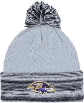 New Era Women's Baltimore Ravens Snow Crown Redux Knit Hat