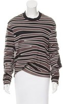 3.1 Phillip Lim Silk Panel Sweatshirt
