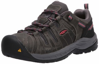 Keen Women's Flint II Low Steel Toe Non Slip Work Shoe Construction