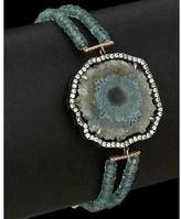 Meira T 14k Rose Gold & Silver 19.47 Ct. Tw. Diamond & Gemstone Bracelet.