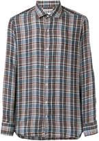 Loro Piana checked button-down shirt