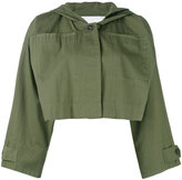 Alexander Wang cropped military jacket - women - Cotton - XS