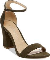 Madden-Girl Bella Two-Piece Block Heel Sandals Women's Shoes