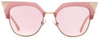 Fendi 54MM Metal Cat Eye Sunglasses